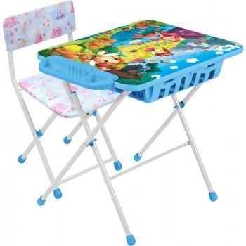 Детский столик и стульчик Ника КУ2П/16 Маленькие принцессы