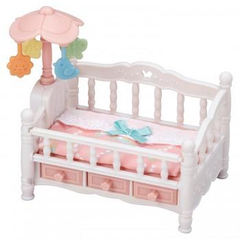 Детская кроватка с мобилем Sylvanian Families 5534