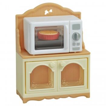 Шкаф с микроволновой печью Sylvanian Families 5443