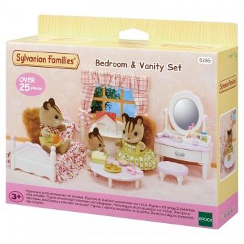 Набор Sylvanian Families Кровать с туалетным столиком 5285