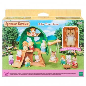 Набор Sylvanian Families Домик на дереве для малышей 5318