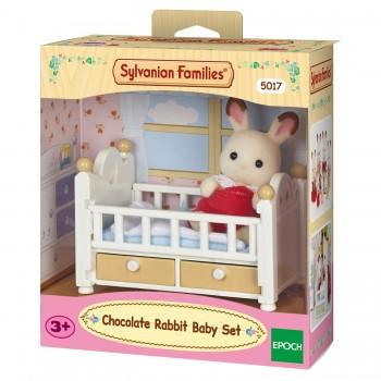 Малыш и детская кроватка Sylvanian Families 5017