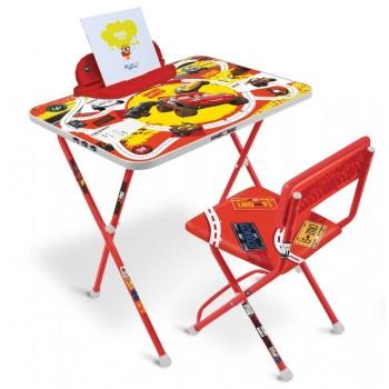 Детский столик и стульчик Ника Тачки Д2Т