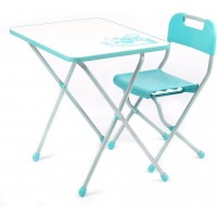 Детский стол и стул Ника КПР/2 Ретро бирюзовый