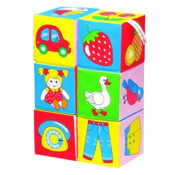 Мягкие кубики Мякиши Предметы