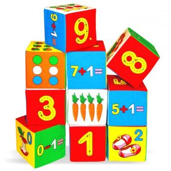 Мягкие кубики Мякиши Умная математика