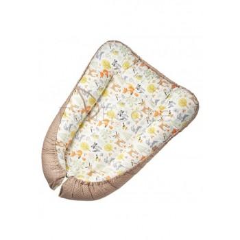 Гнездышко-кокон для новорожденных Лесная сказка Fun Ecotex FE29911