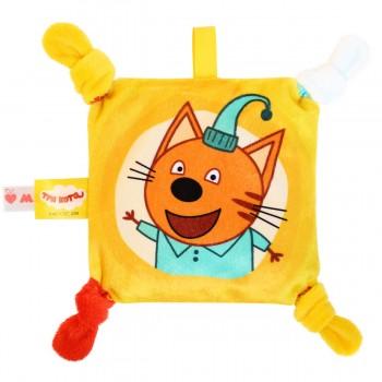 Игрушка грелка с вишневыми косточками Три кота Компот Мякиши