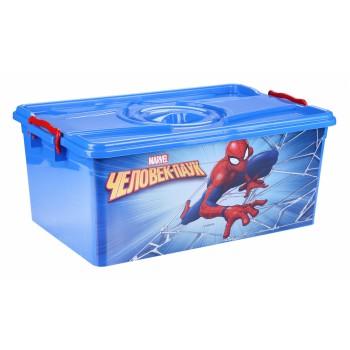 Ящик для игрушек Человек-паук 40л