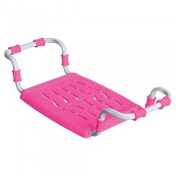 Сиденье для ванны раздвижное Ника СВ5 розовое