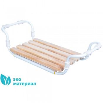 Сиденье для ванны деревянное раздвижное Ника СВ3