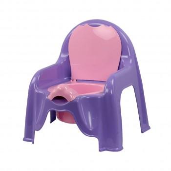 Детский горшок-стульчик фиолетовый