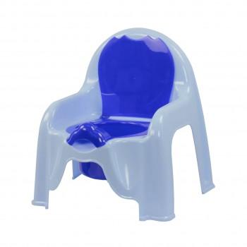 Детский горшок-стульчик голубой