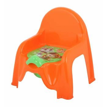 Детский горшок-стульчик 44 котенка