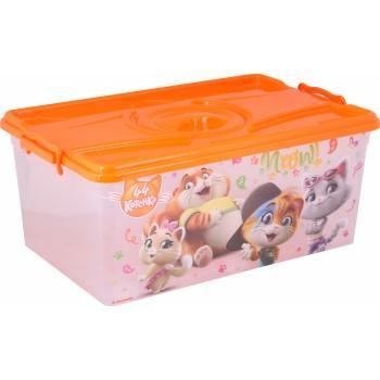 Ящик для игрушек 44 котенка (40л)