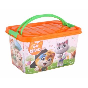 Ящик для игрушек 44 котенка (15л)