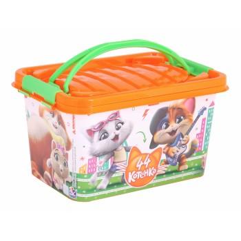 Ящик для игрушек 44 котенка (7л)