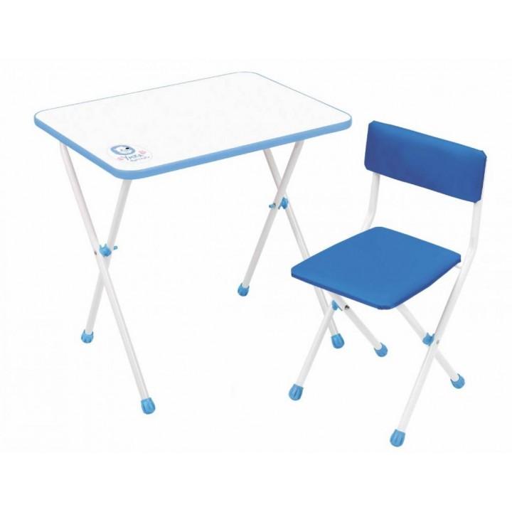 Детский стол и стул Ника НДУ1 Умка-фантазер голубой