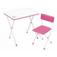 Детский стол и стул Ника НДУ1 Умка-фантазер розовый