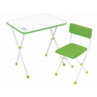 Детский стол и стул Ника НДУ1 Умка-фантазер салатовый