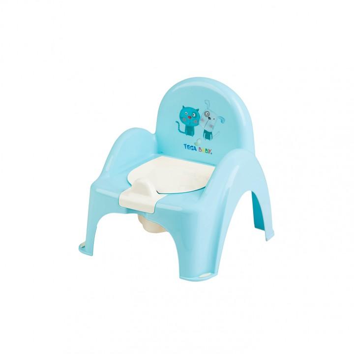 Детский горшок-стульчик Tega Кот и Пес