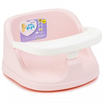 Сиденье для купания на присосках Little Angel розовое
