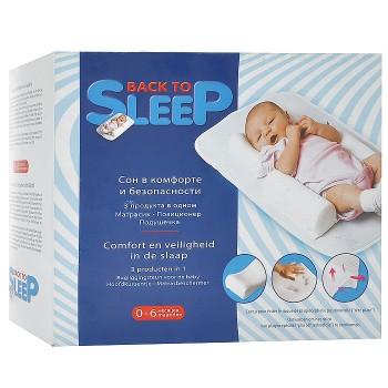 Позиционер для сна новорожденных Plantex Back to sleep