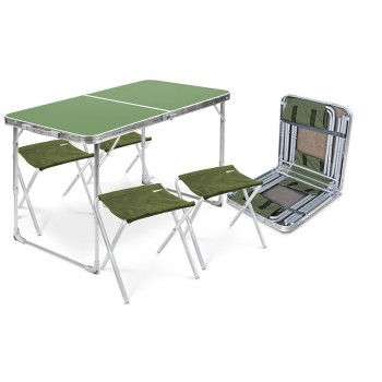 Дачный набор стол и 4 стула Ника ССТ-К2