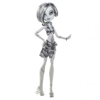 Кукла Monster High Френки Штейн Побережье Черепа черно-белая